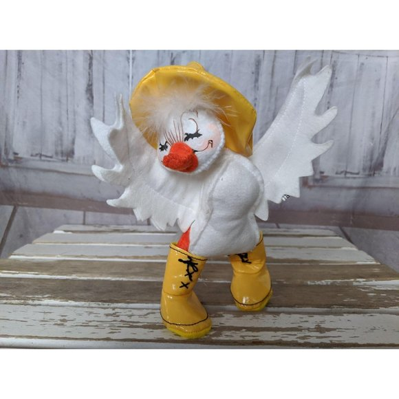 Annalee Other - Vintage Annalee Doll Duck in Yellow Rain Boos with